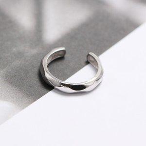 Geometric Facetedd Silver Ring
